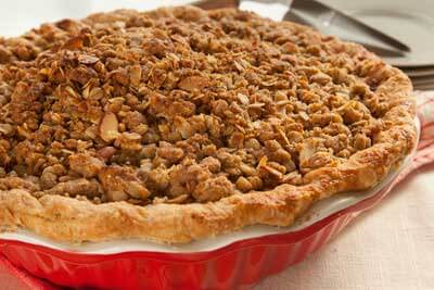 ... pie combines the two classic autumn flavors of apple and cranberry