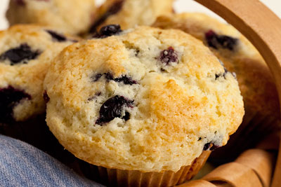 Blueberry Almond Muffins at Odense